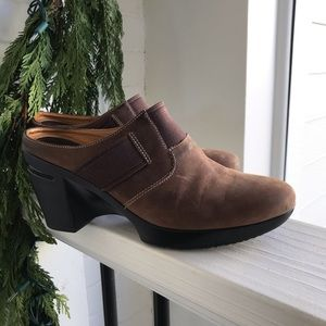 Cole Haan Nike Air Mules Brown / tan Shoes 8.5